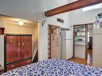 Both bedrooms are spacious and offer ample storage space.