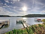 Situated in the mouth of Staley Hollow Cove, right on the west side of the Lake of the Ozarks, this home offers a...