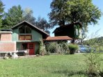 Fairytale wooden house near Ljubljana and Tree house Ramona