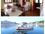 The price for the boat is extra ? 50% discount for the guests of the house !