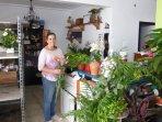 Elena, the florist