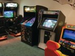 Arcade games are available