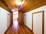 Sotao, que tambem serve como Dormitorio, o ambiente mais quentinho da casa