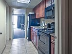 Utilize the fully equipped kitchen for home-cooked meals each night.