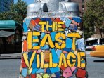 Welcome to the East Village, NYC - the home of artists, musicians,  and foodies!