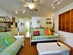 Comfortable family room space
