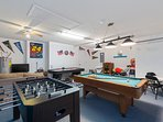 Use any excess energy you may have in our games room, playing pool, air hockey or PS2