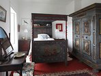 Westcove House Bedroom 4 with antique Austrian furniture
