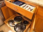 Cooking equipment, dishes, utensils, appliances