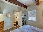 Spacious queen master bedroom