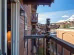 Porch balcony overlooking Breckenridge