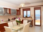 Fully equipped kitchen with all the necessary facilities for you to prepare your meals