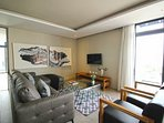 Relax on a soft comfortable couch while enjoying the fresh Cape Town air with stunning views