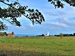 View over to North Foreland light house.