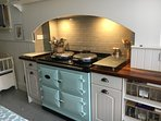 Aga electric cooker