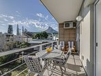View of Lions Head mountain from the sunny balcony that leads from the living room and main bedroom.