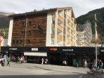 Apartment building. New facade 2017.