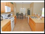 Eat in kitchen separate formal dining