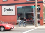 Genies- across the street from Pine State. Great omlettes- All Fresh food-breckfast and lunch only;