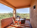 Enjoy beautiful desert evenings during your stay at 1-bedroom, 1-bathroom vacation rental townhouse in Green Valley.
