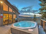 Situated in the Ridgecrest community, this home grants you access to community amenities, like this hot tub that looks ...
