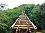 Hiking Koko Head. 1,048 steps to the top, Koko Head is a regular tradition for many islanders.