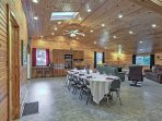 Easily host family gatherings, church functions, or business meetings with plenty of room!