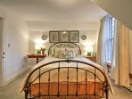 All 4 bedrooms are decorated to complement the home's Victorian design.