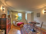 The home has unique classic decor you're sure to love!