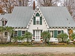 This Victorian home was built in 1854 and is meticulously maintained!