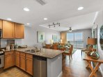 Beautifully decorated with a fully equipped kitchen!