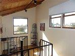 Window,Banister,Handrail,Staircase,Chair