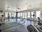 The Beach club fitness room