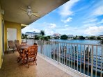 Enjoy the beautiful view from this Bay Harbor unit.