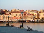 Old Harbor of Chania,100m from our house