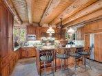 Bar stools to kitchen