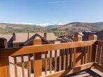 Master suite balcony