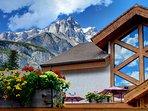 Enjoy spectacular mountain views surrounding this stunning unit.