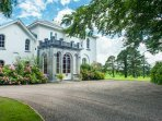 Front entrance  Coolclogher House Killarney.