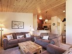 SkyRun Property - '2972 Key Condo' - Living Room - The cozy living room is warm and welcoming.