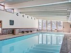 Key Condo Pool - The indoor pool is available for your enjoyment.