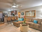 Hang loose at this newly remodeled 2-bedroom, 2-bathroom vacation rental condo in historic  Lahaina!