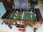 New Football play table for our customers to enjoy playing on.