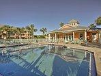 Take a refreshing swim in the heated community pool.