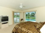 Master Bedroom looking over lanai