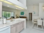 Kitchen into Great Room