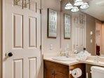 Legacy 102 Bathroom with bath tub