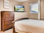 Legacy 102 Master Bedroom with TV