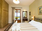 From the bedroom you have direct exit to veranda with seating area