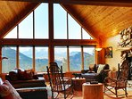 Sit and relax while appreciating views of Rocky Mountain National Park and the Continental Divide